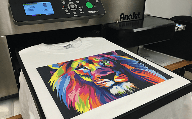 Digitally Printing T-Shirts