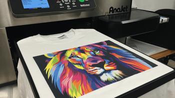 Digitally Printing T-Shirts
